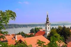 Cityscape van Belgrado royalty-vrije stock foto's