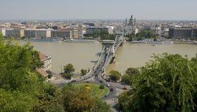 Cityscape van Boedapest Stock Afbeelding