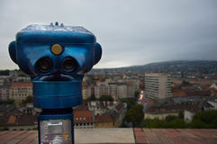 Cityscape van Boedapest stock foto