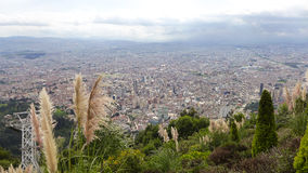 Cityscape van Bogota Stock Foto's