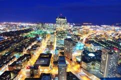 Cityscape van Boston Stock Afbeelding