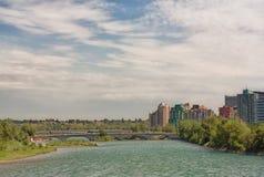 Cityscape van Calgary Royalty-vrije Stock Foto