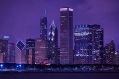 Cityscape van Chicago Stock Afbeelding