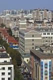 Cityscape van Dalina, China Royalty-vrije Stock Afbeeldingen
