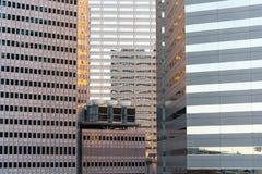 Cityscape van Dallas stock afbeeldingen