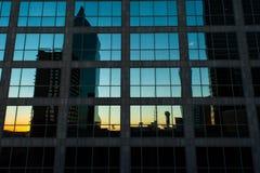 Cityscape van Dallas stock afbeelding