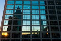 Cityscape van Dallas stock fotografie