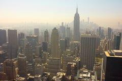 Cityscape van de Bouw Chrysler van New York City Stock Afbeeldingen
