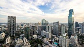 Cityscape van de stad Thailand van Bangkok stock foto