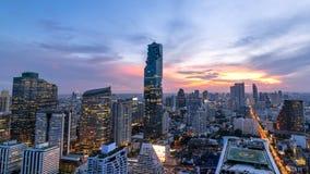 Cityscape van de stad Thailand van de binnenstad van Bangkok royalty-vrije stock fotografie