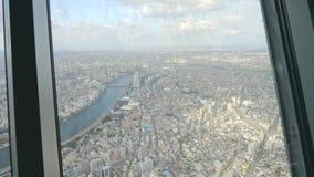 Cityscape van de Stad van Tokyo