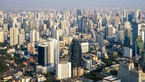 Cityscape van de stadslandschap Thailand van Bangkok royalty-vrije stock fotografie