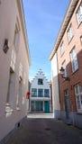 Cityscape van de straat van Brugge Royalty-vrije Stock Afbeeldingen