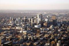 Cityscape van Denver Colorado Stock Foto