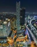 Cityscape van Djakarta Royalty-vrije Stock Foto
