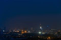 Cityscape van Dortmund Stock Foto's