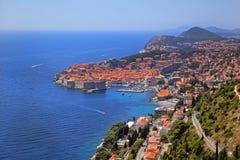 Cityscape van Dubrovnik Stock Afbeelding