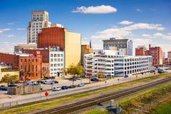 Cityscape van Durham Stock Afbeeldingen