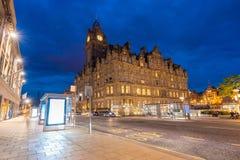 Cityscape van Edinburgh royalty-vrije stock afbeelding