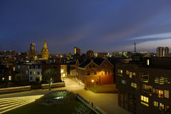 Cityscape van Enschede Nederland Royalty-vrije Stock Foto's