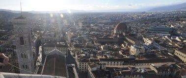 Cityscape van Florence Stock Afbeeldingen