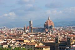 Cityscape van Florence, Italië Stock Afbeeldingen