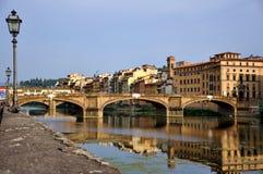 Cityscape van Florence tegen dag Royalty-vrije Stock Afbeeldingen