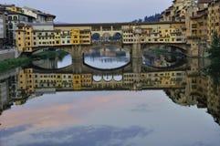 Cityscape van Florence tegen dag Royalty-vrije Stock Foto's