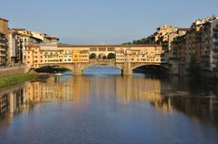 Cityscape van Florence tegen dag Stock Fotografie