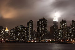 Cityscape van Grunge Stock Afbeelding