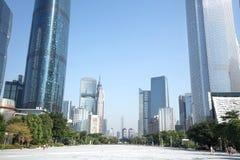 Cityscape van Guangzhou stock foto