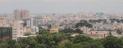 Cityscape van Ho Chi Minh-stad Royalty-vrije Stock Fotografie