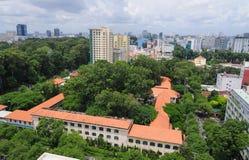 Cityscape van Ho Chi Minh-stad Stock Afbeeldingen