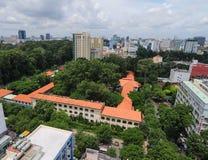 Cityscape van Ho Chi Minh-stad Stock Fotografie