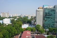Cityscape van Ho Chi Minh-stad Stock Foto