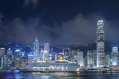 Cityscape van Hongkong Royalty-vrije Stock Foto's