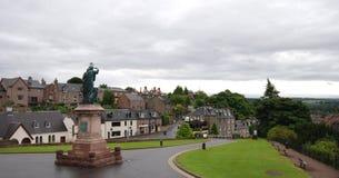 Cityscape van Inverness in de Hooglanden van Schotland Royalty-vrije Stock Foto's