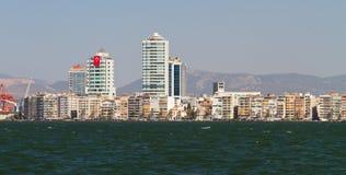 Cityscape van Izmir, Turkije Royalty-vrije Stock Afbeelding