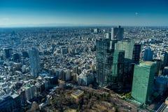 Cityscape van Japan de mening van het vogeloog bij middag royalty-vrije stock foto's