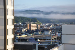 Cityscape van Japan Takayama Stock Fotografie