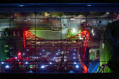 Cityscape van Japan Tokyo van toren luchtmening Stock Foto