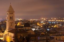 Cityscape van Jeruzalem Stock Foto