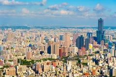 Cityscape van Kaohsiung-stad, Taiwan Royalty-vrije Stock Fotografie