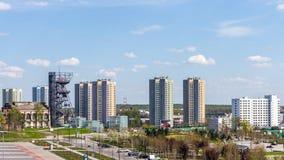 Cityscape van Katowice Stock Foto's