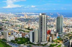 Cityscape van Kobe stock foto's