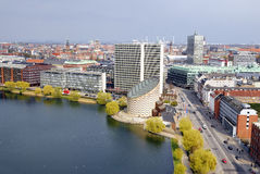 Cityscape van Kopenhagen Royalty-vrije Stock Foto