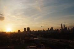 Cityscape van Kuala Lumpur Royalty-vrije Stock Afbeeldingen