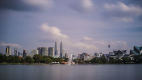 Cityscape van Kuala Lumpur Stock Afbeeldingen