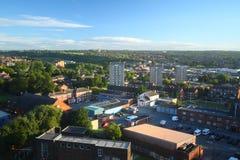 Cityscape van Leeds Stock Afbeeldingen