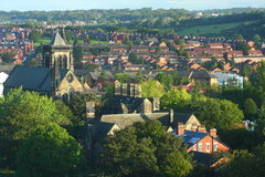 Cityscape van Leeds royalty-vrije stock afbeeldingen
